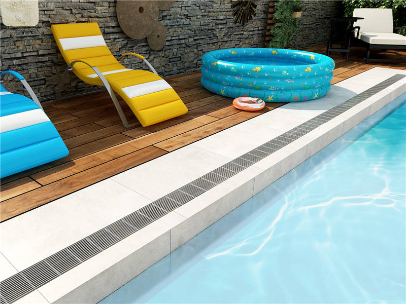Pool Deck Trench Drain M Drain Manufacturer Of Linear